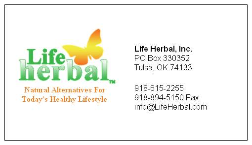 Life Herbal, Inc. Contact Info